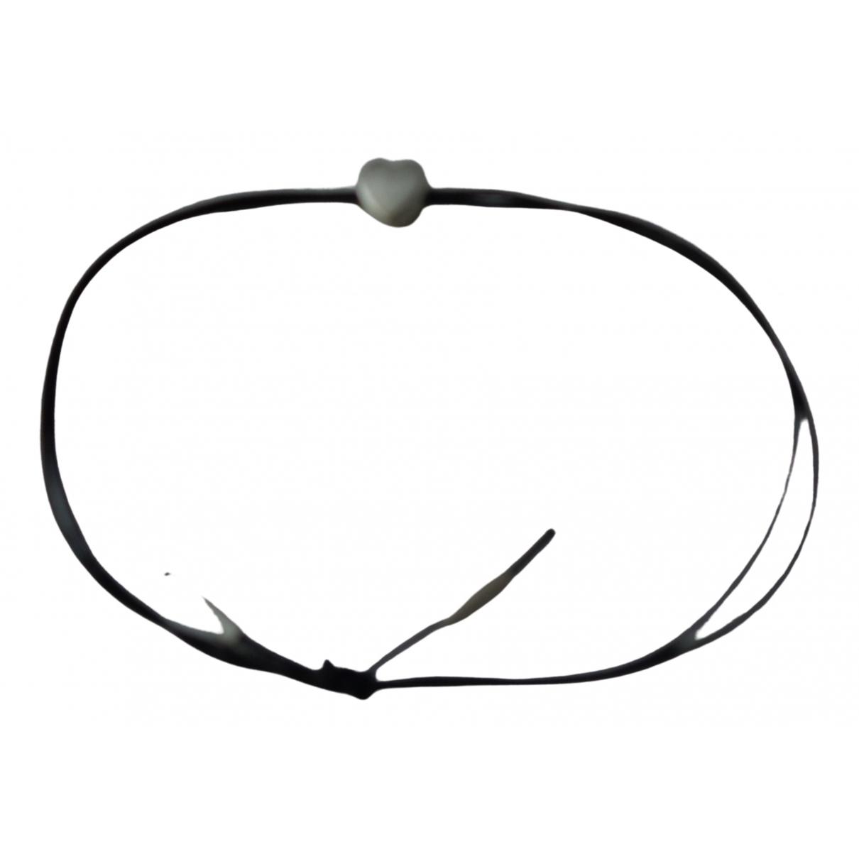 Jane Koenig \N Black Silver bracelet for Women \N