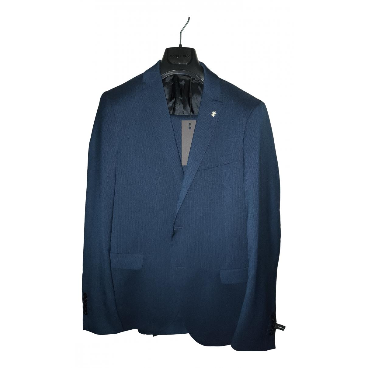 Manuel Ritz - Costumes   pour homme - bleu
