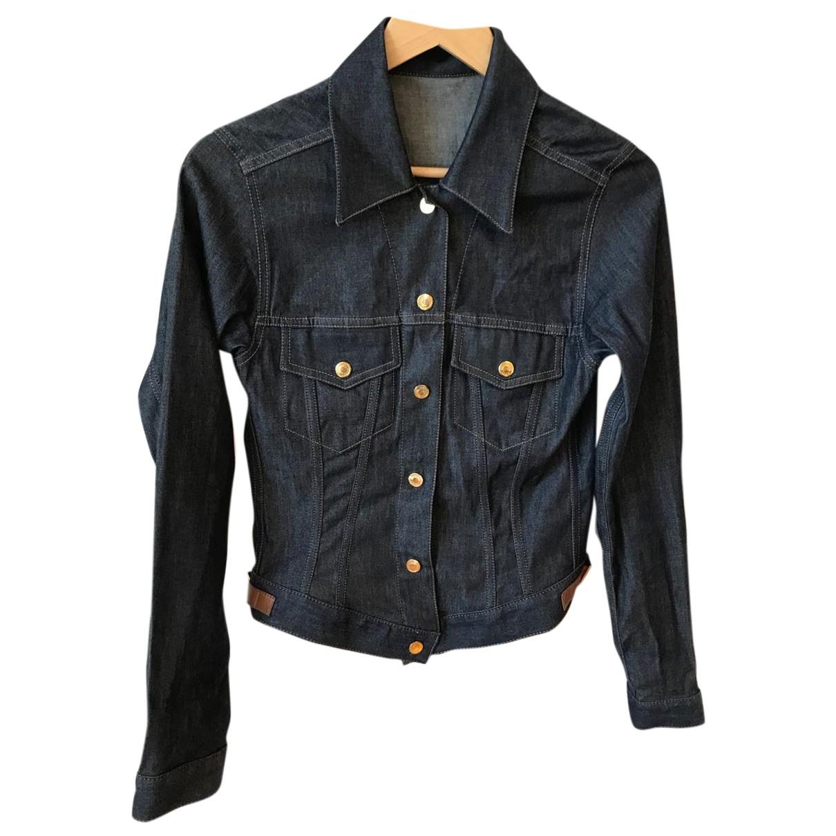 Gucci N Blue Denim - Jeans jacket for Women 38 IT