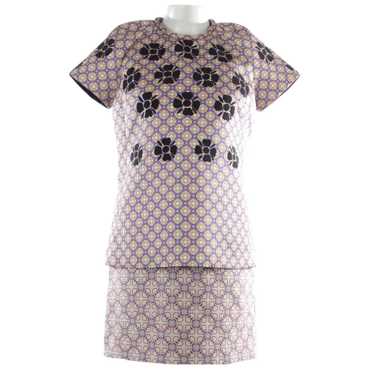 Victoria Beckham \N Kleid in  Bunt Synthetik