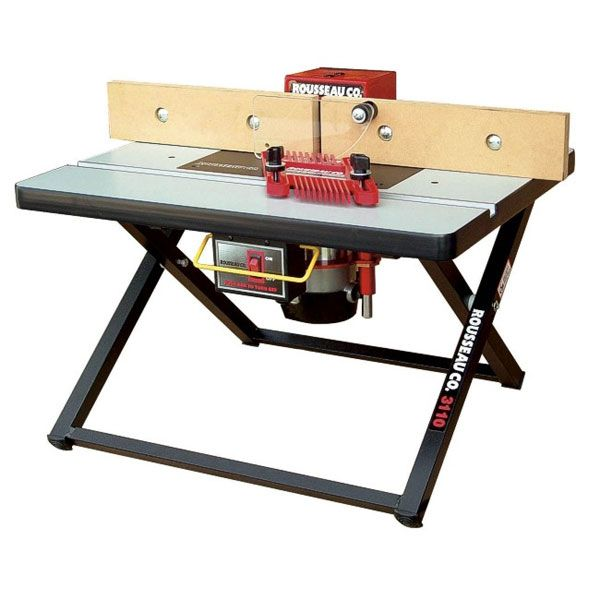 Portable Router Table, Benchtop Model 3110