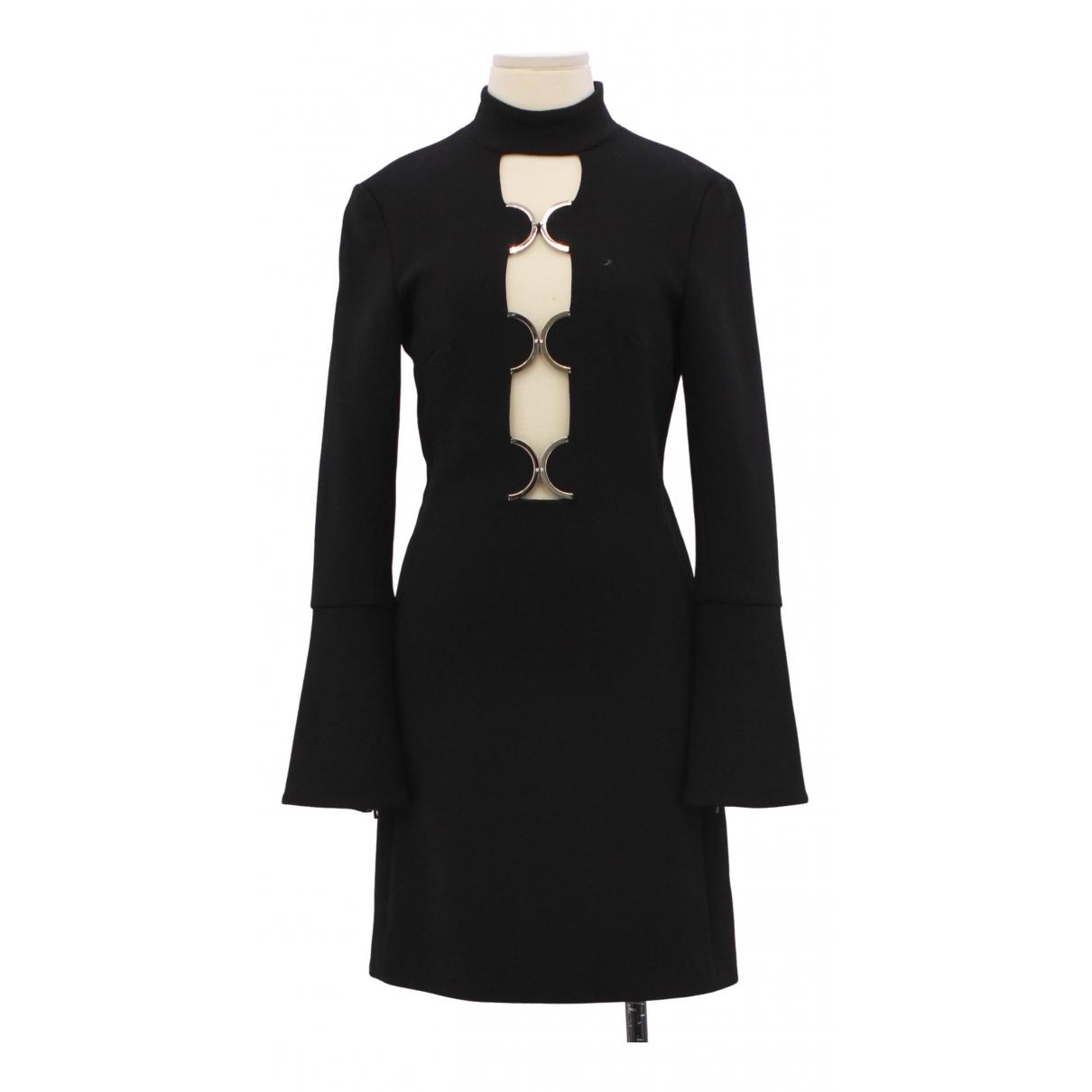 David Koma - Robe   pour femme en laine - noir