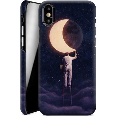 Apple iPhone XS Smartphone Huelle - Carpe Noctem Wide von Enkel Dika