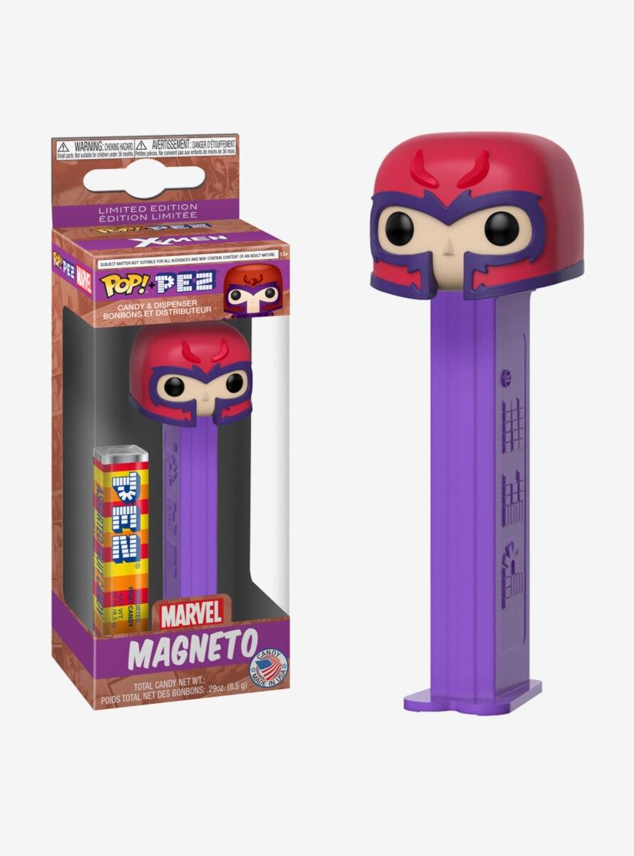 Funko Pop! PEZ Marvel X-Men Magneto Candy & Dispenser