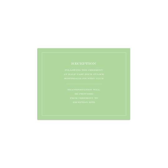 20 Pack of Martha Stewart Ballister Edge Personalized Wedding All Purpose Card in Fern   4.25 x 5.5   Michaels®