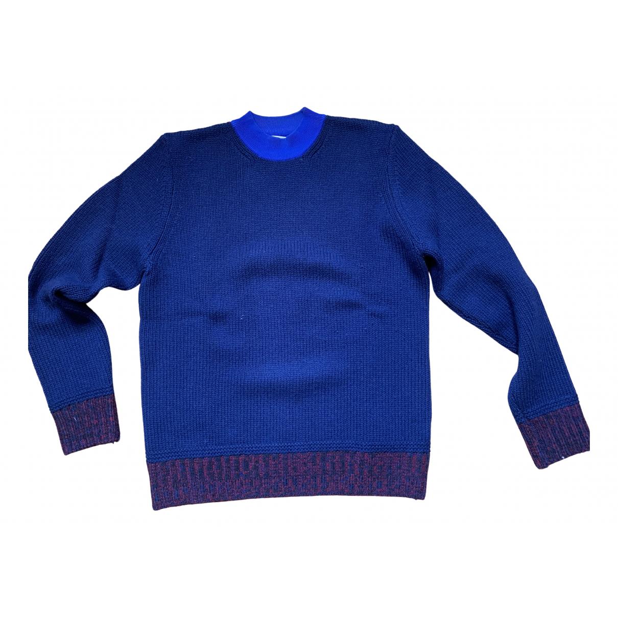 Carven \N Pullover.Westen.Sweatshirts  in  Blau Wolle