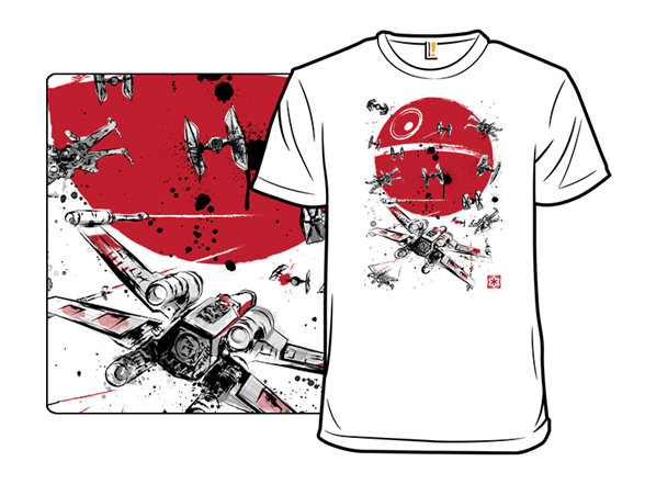 Battle In The Outer Rim T Shirt