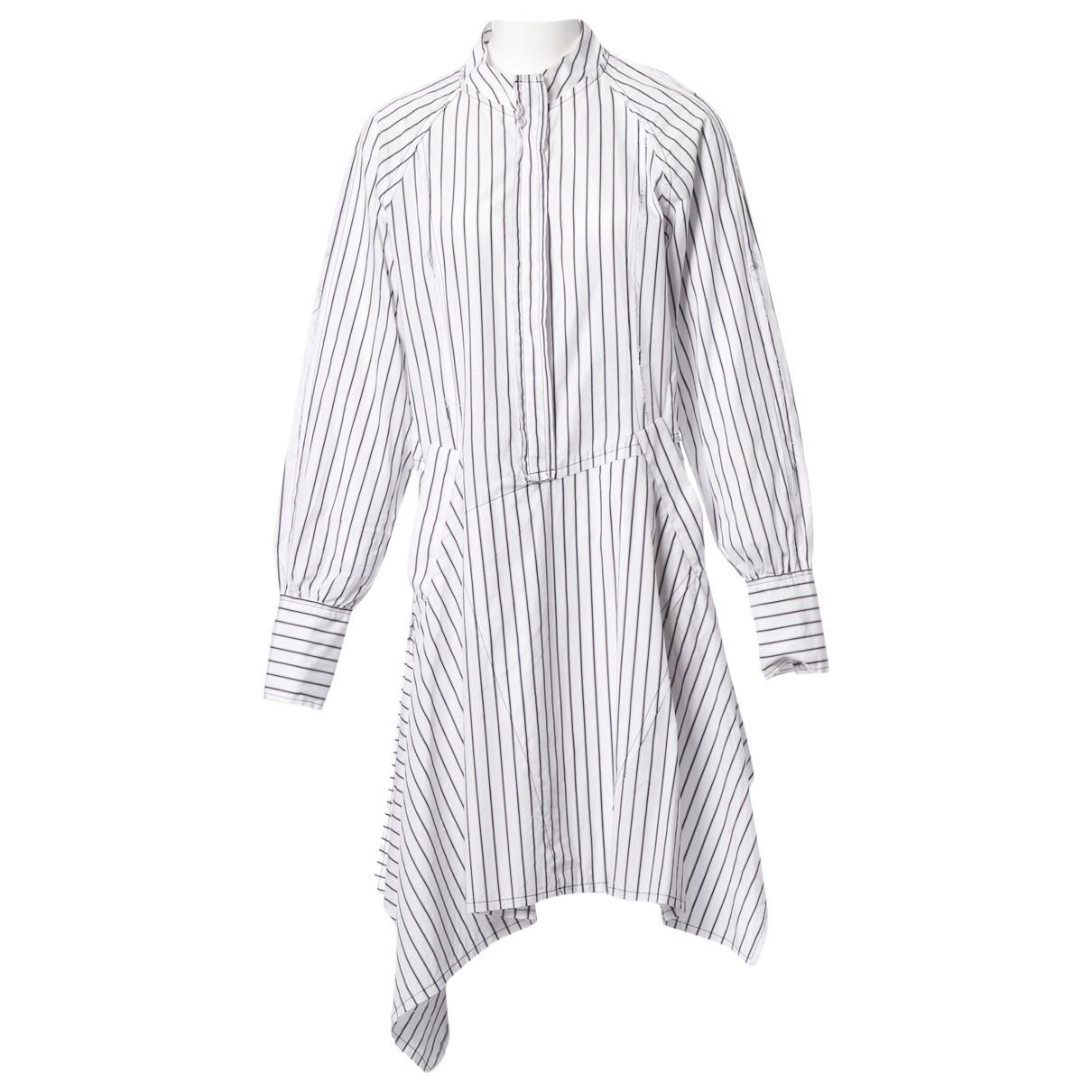 J.w. Anderson - Robe   pour femme en coton - blanc