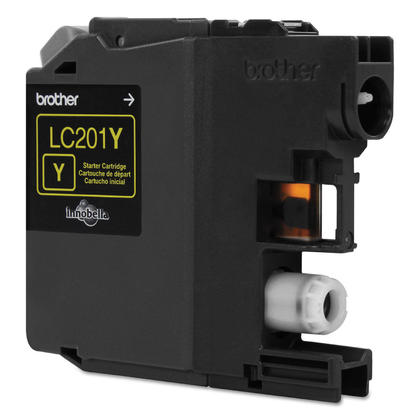 Brother LC201Y Original Yellow Ink Cartridge