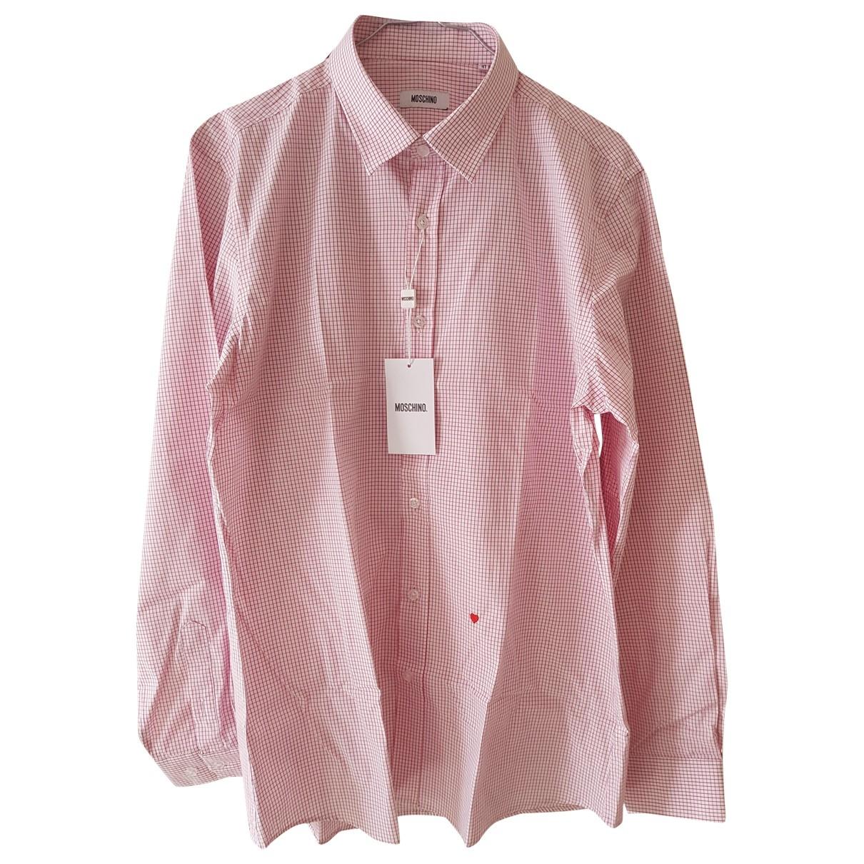 Moschino \N Hemden in  Rosa Baumwolle