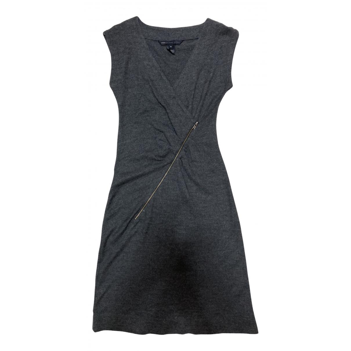 Marc By Marc Jacobs - Robe   pour femme en laine - gris