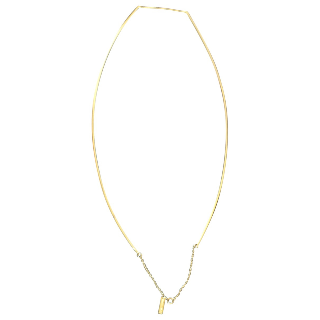 Non Signé / Unsigned \N Gold Gold plated necklace for Women \N