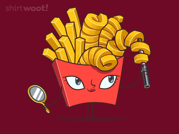 Curly Fries T Shirt