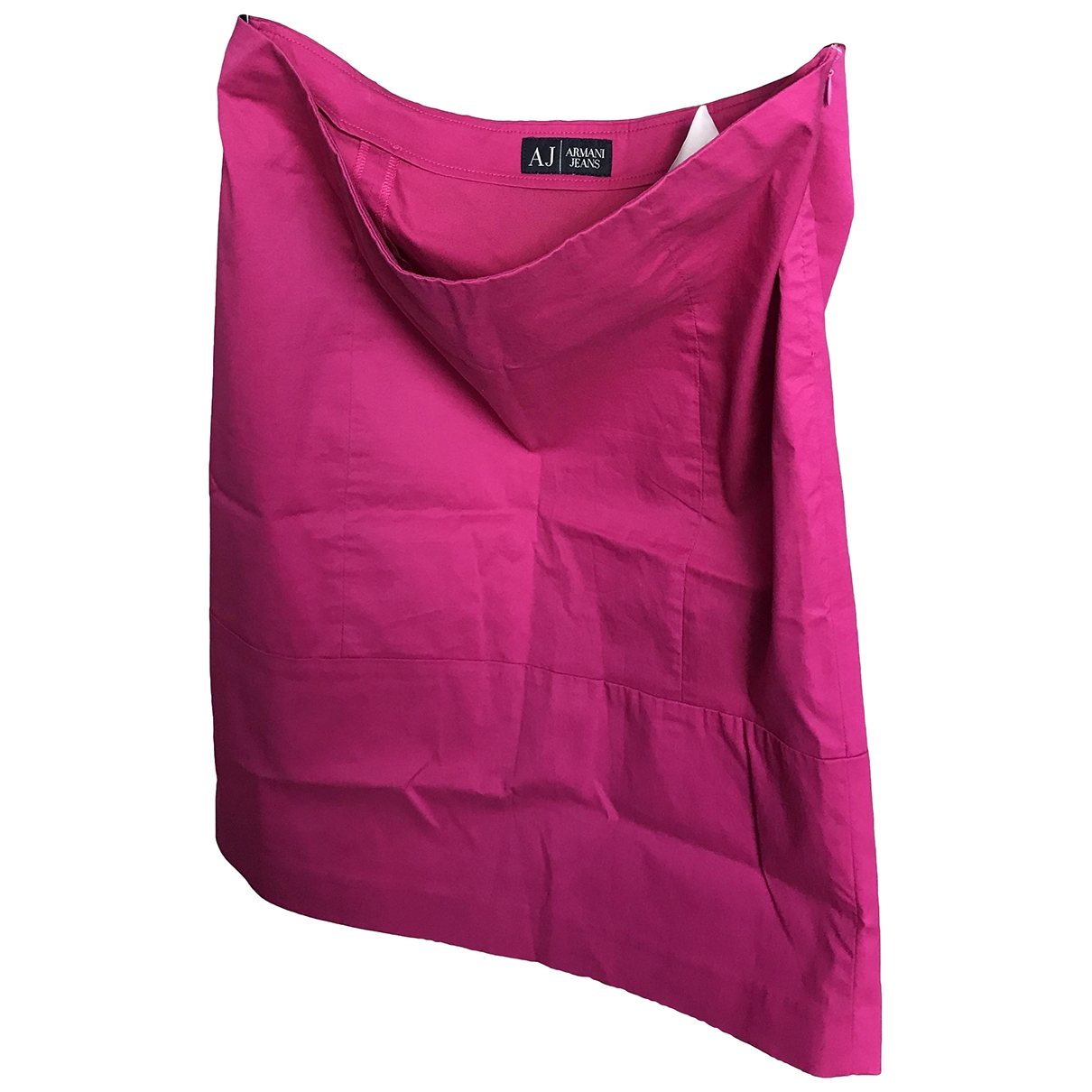 Armani Jeans \N Pink Cotton skirt for Women 6 US