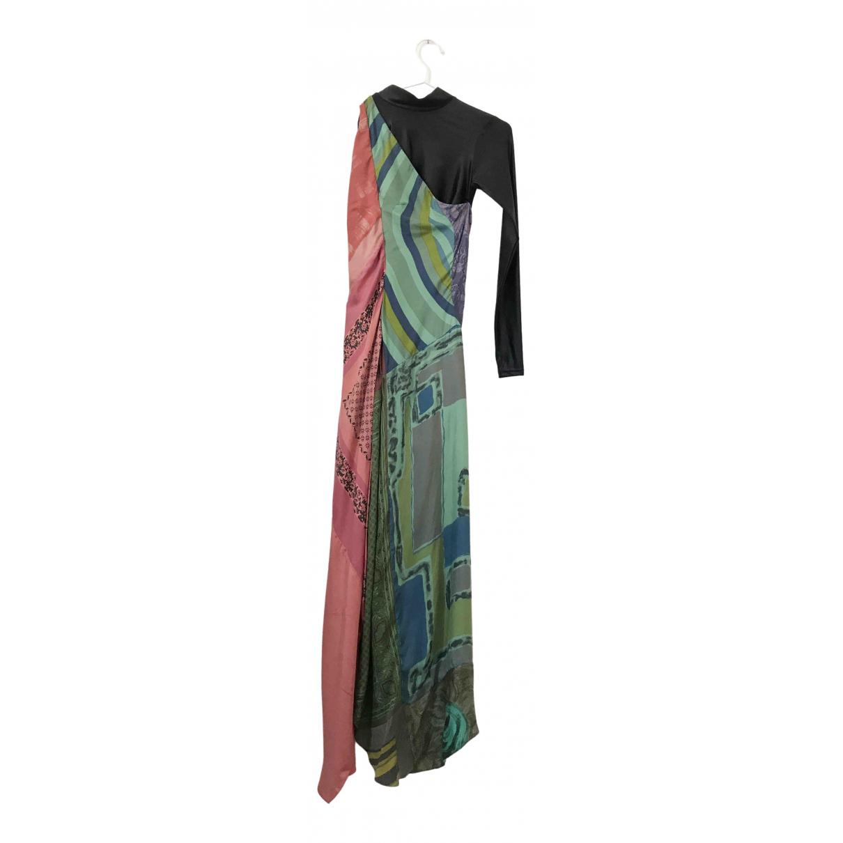 Marine Serre N Multicolour Silk dress for Women S International
