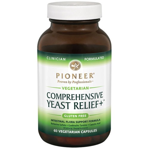 Comprehensive Yeast Relief + 60 Vcaps by Pioneer Nutritionals