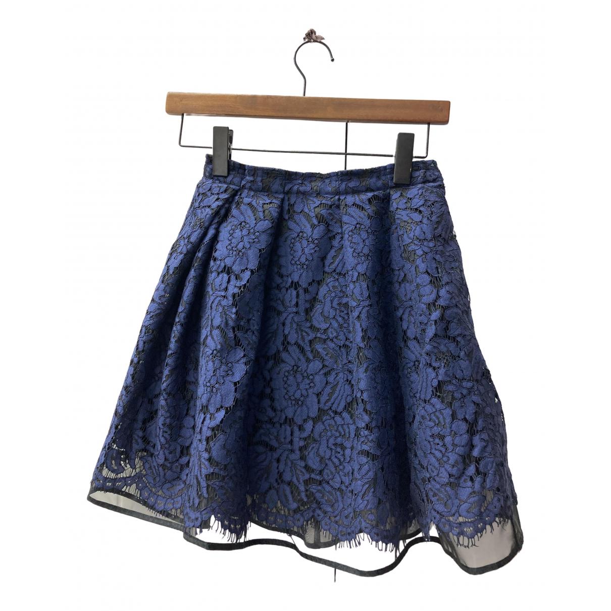 Msgm \N Rocke in  Blau Polyester