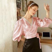 Blusas Cinta Floral Glamour