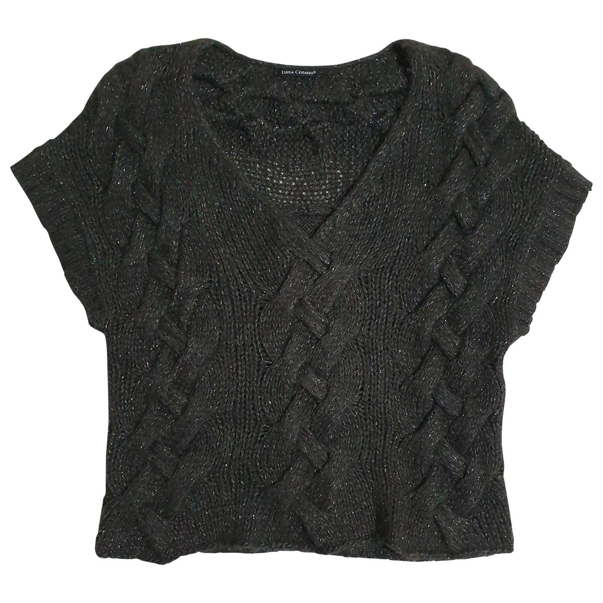 Luisa Cerano - Pull   pour femme en laine - gris