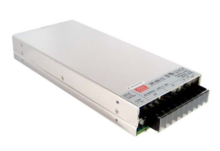 Mean Well , 425W Embedded Switch Mode Power Supply SMPS, 5V dc, Enclosed