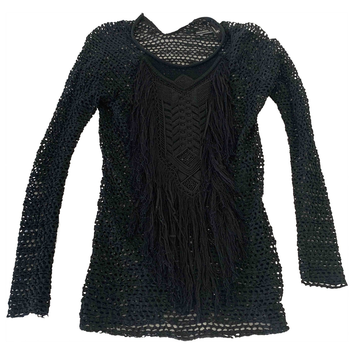 Isabel Marant Etoile \N Black Cotton  top for Women 1 0-5