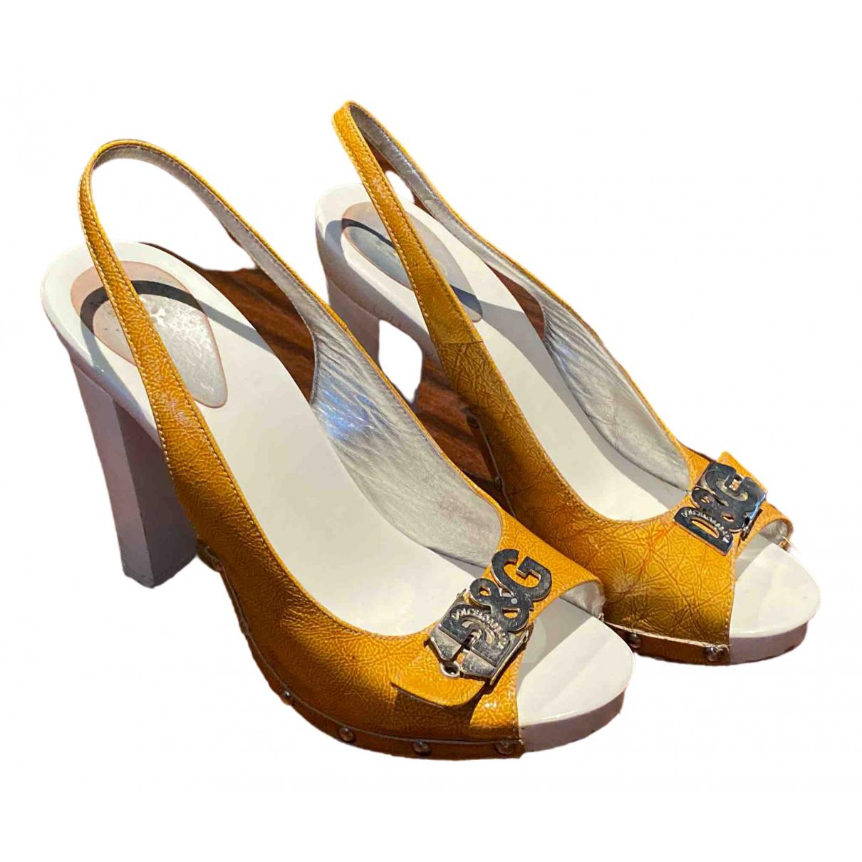 Dolce & Gabbana - Escarpins   pour femme en cuir verni - multicolore