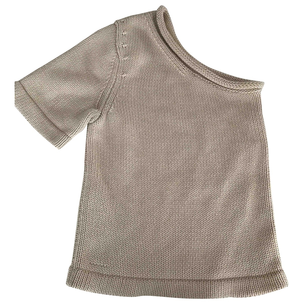 Cos \N Pullover in  Beige Wolle