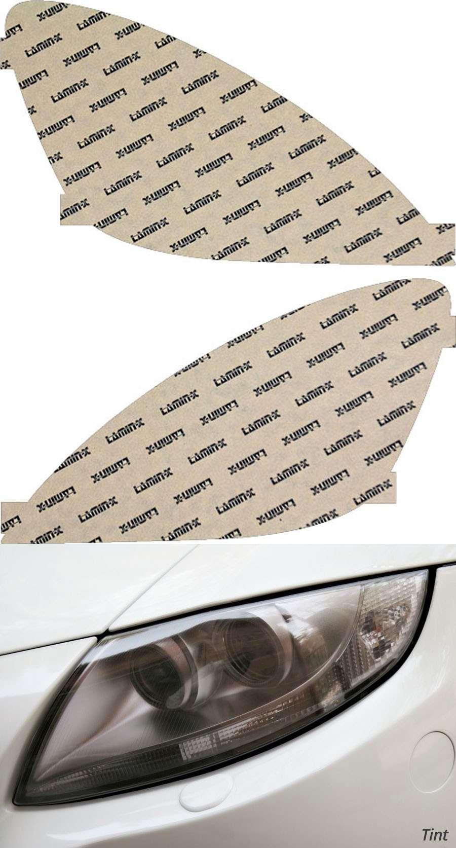 Mitsubishi Lancer 04-06 Tint Headlight Covers Lamin-X MT004T