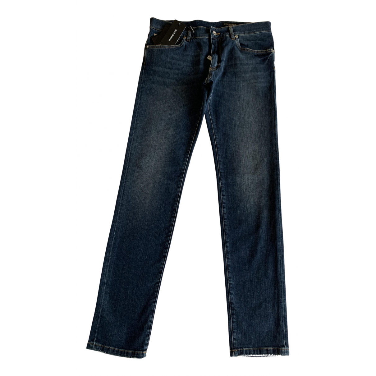 Dolce & Gabbana N Blue Cotton Jeans for Men 42 FR