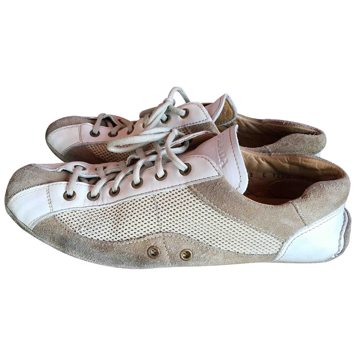 Carshoe - Baskets   pour homme en suede - beige
