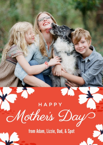 Mother's Day Cards Mail-for-Me Premium 5x7 Folded Card , Card & Stationery -Cherry Blossom