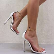 Clear Strap Sandals