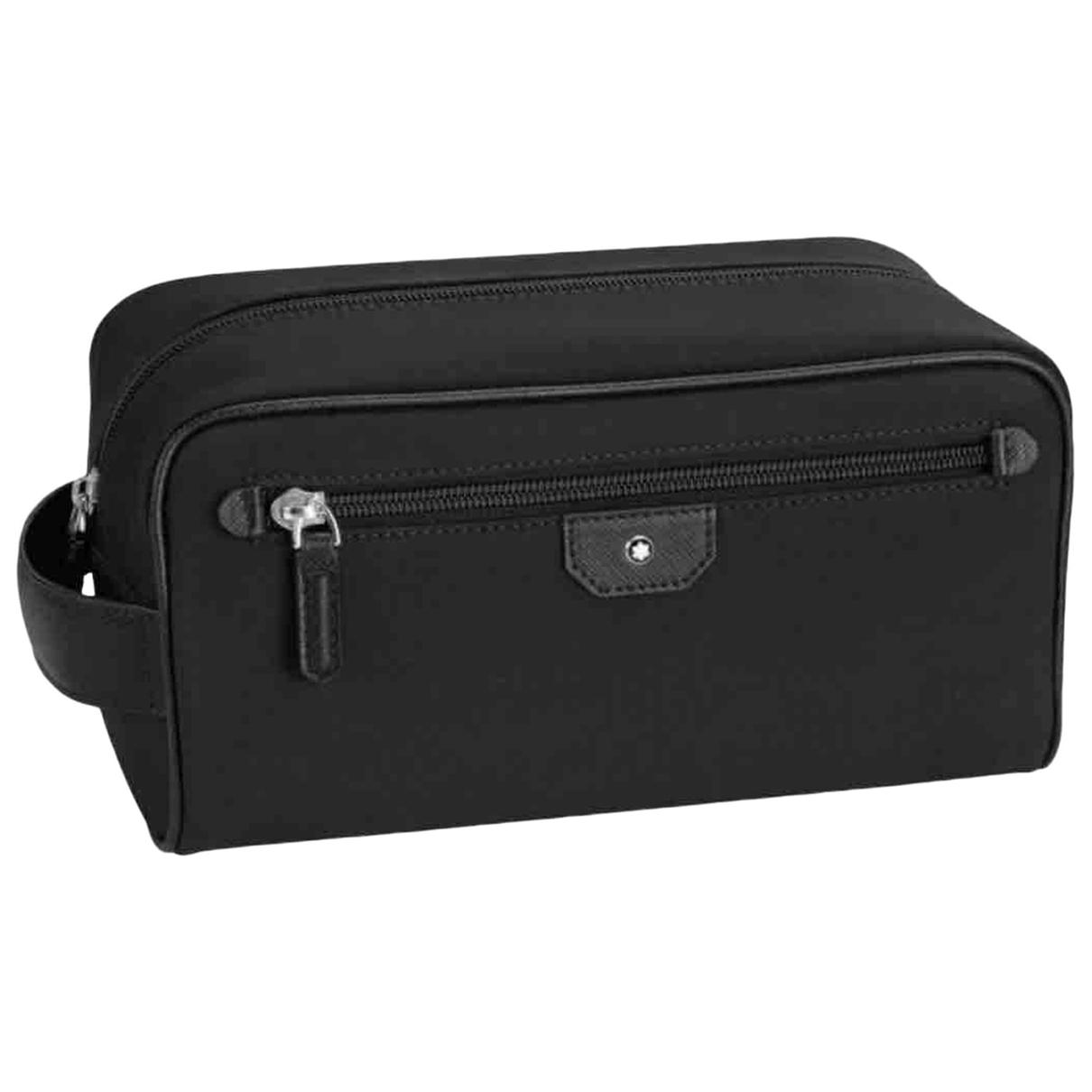 Montblanc \N Black Small bag, wallet & cases for Men \N