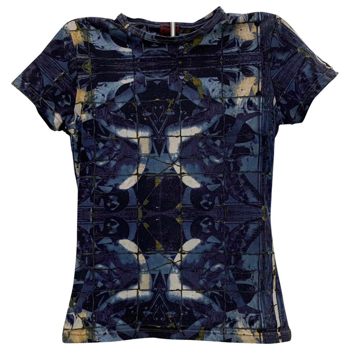 Jean Paul Gaultier - Top   pour femme - bleu