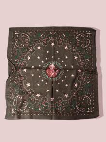 Star Pattern Bandana