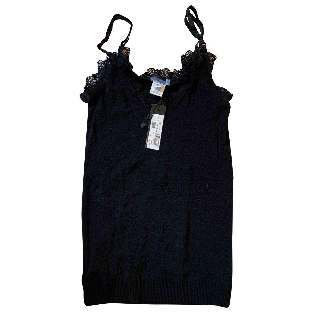Blumarine \N Black  top for Women M International
