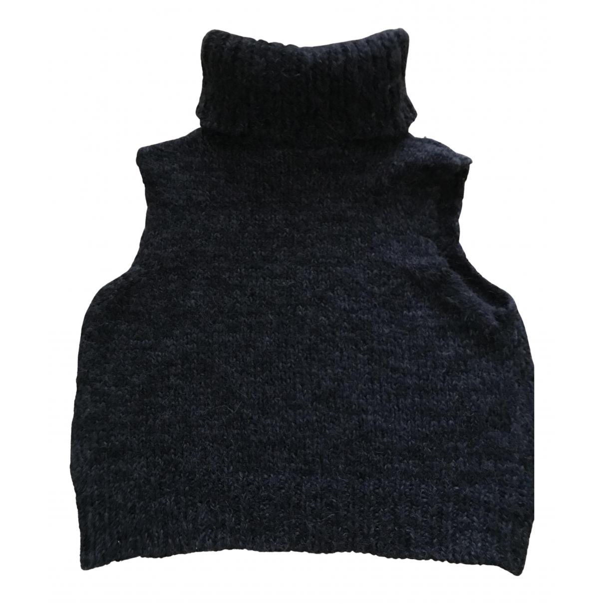Joseph - Pull   pour femme en laine - anthracite
