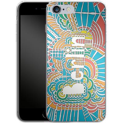 Apple iPhone 6 Plus Silikon Handyhuelle - Berlin Blue von Kaitlyn Parker