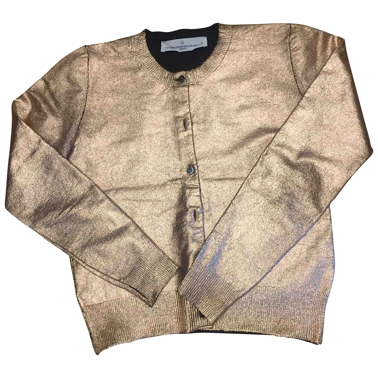 Golden Goose \N Pullover in  Gold Wolle