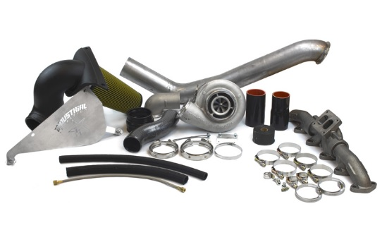 Industrial Injection 227412 w/ 1.00 Turbine A/R Turbo Kit (169012) Dodge S464 2003-2007