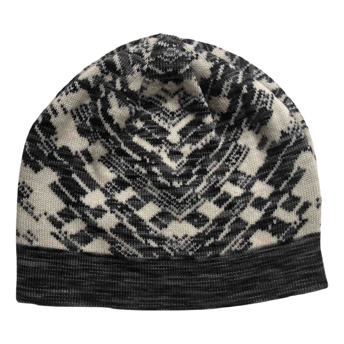 Missoni - Chapeau   pour femme en laine - multicolore