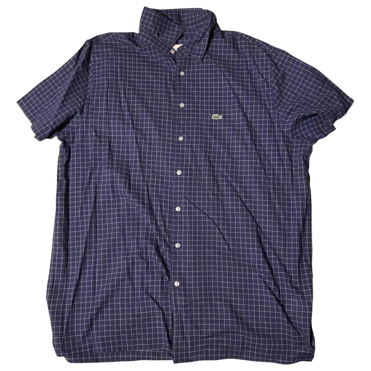 Lacoste \N Blue Cotton Shirts for Men XL International