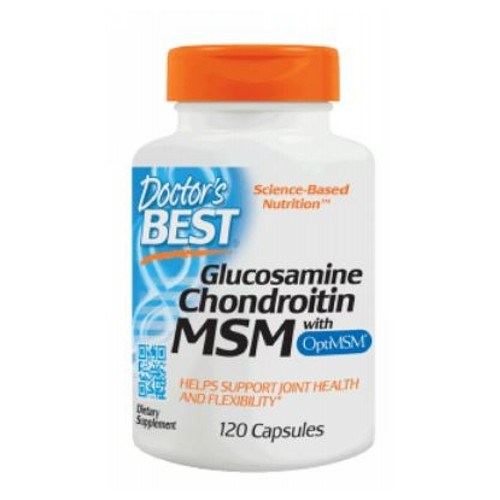 Glucosamine Chondroitin OptiMSM 120 Caps by Doctors Best
