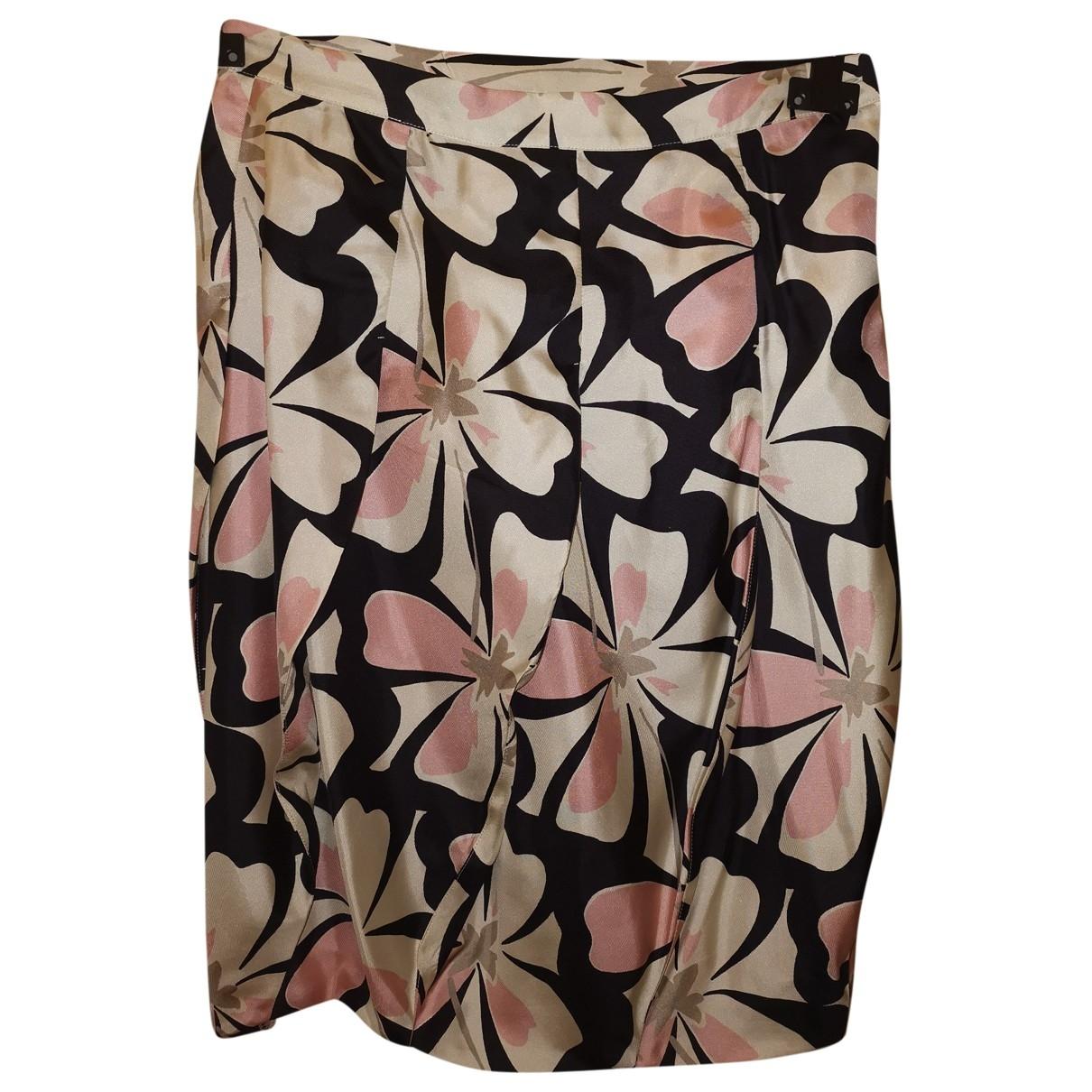 Mini falda de Seda Anna Molinari