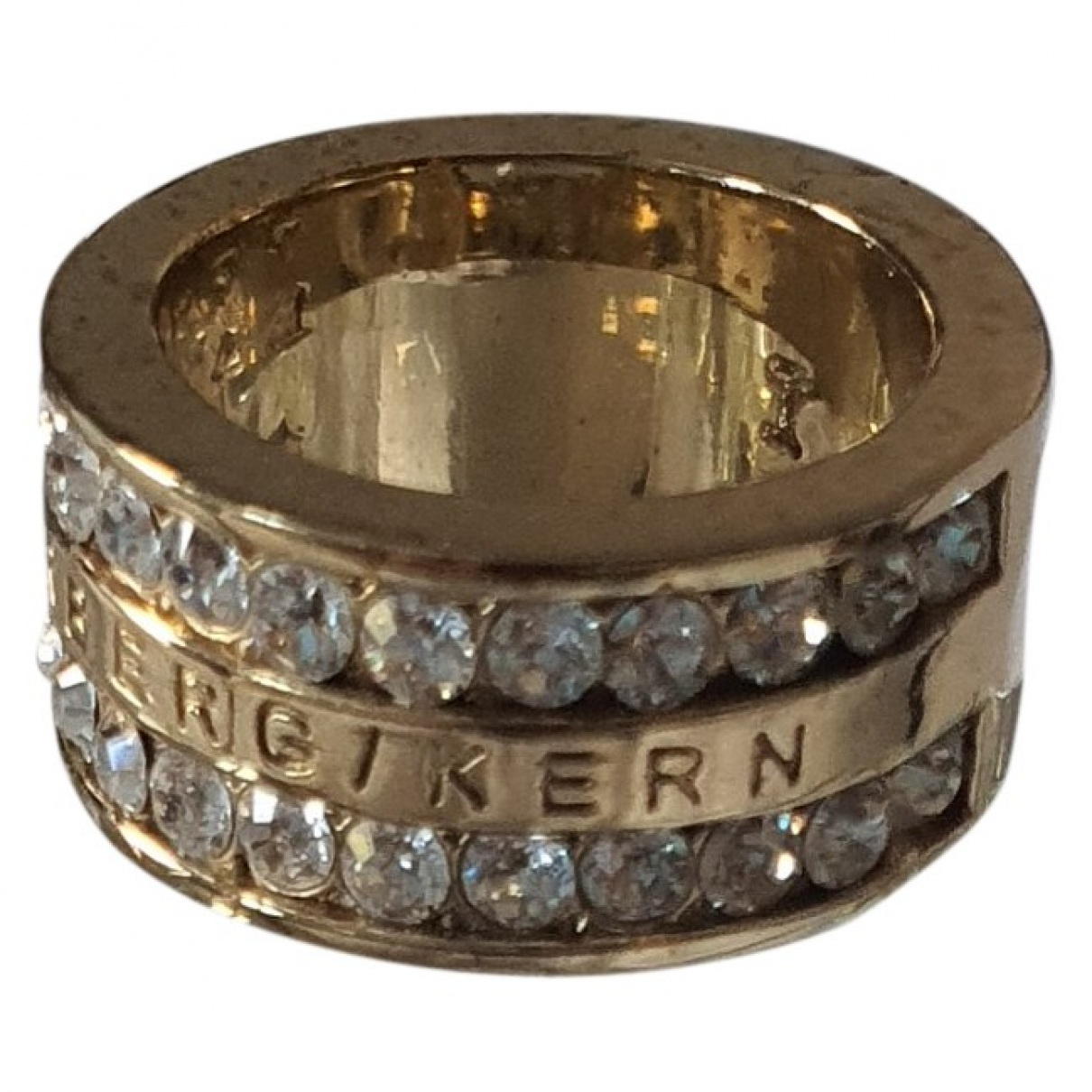 Dyrberg/kern \N Gold Metal ring for Women \N
