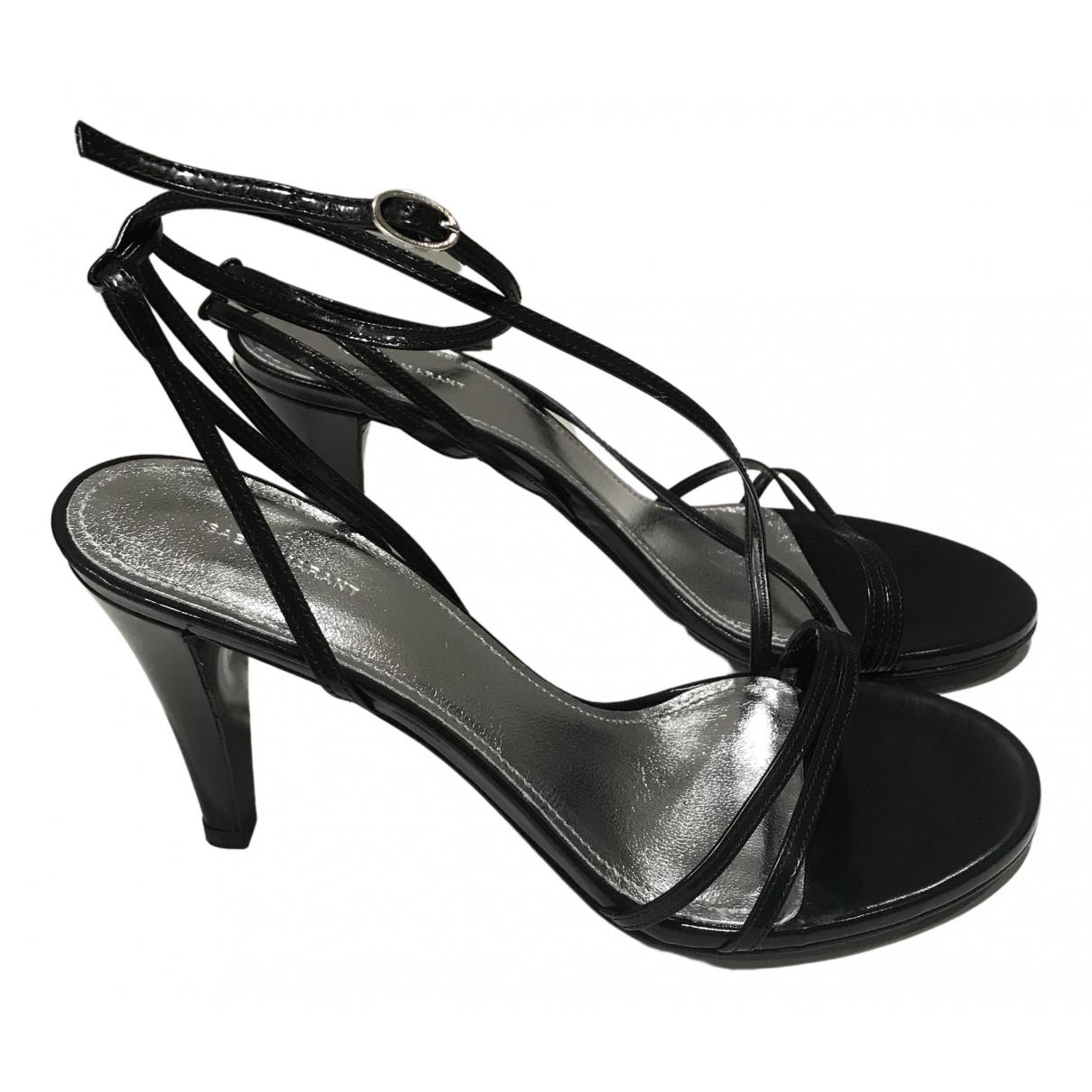 Isabel Marant \N Black Leather Sandals for Women 37 EU