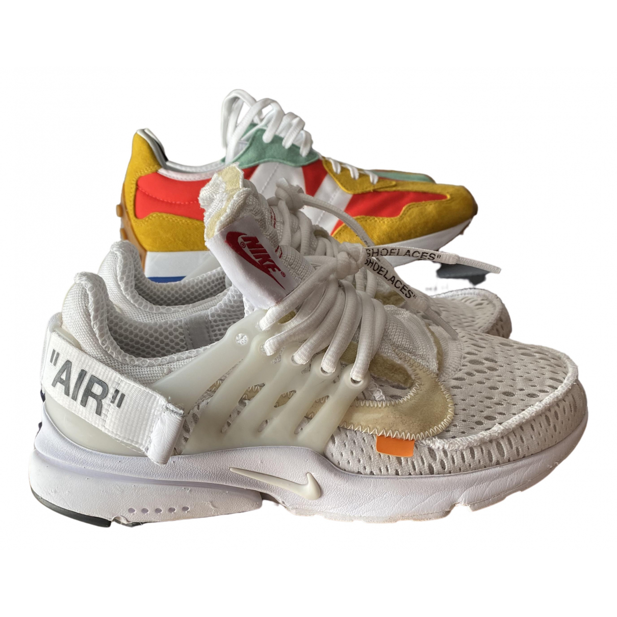 Nike X Off-white Air Presto White Cloth Trainers for Men 6 US