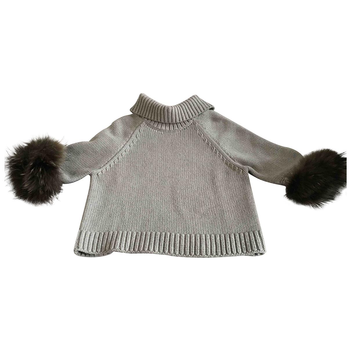 Peserico - Pull   pour femme en laine - beige