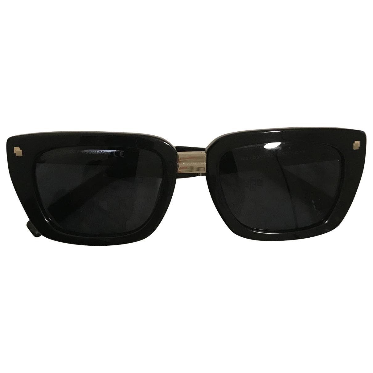 Dsquared2 \N Sonnenbrillen in  Schwarz Kunststoff