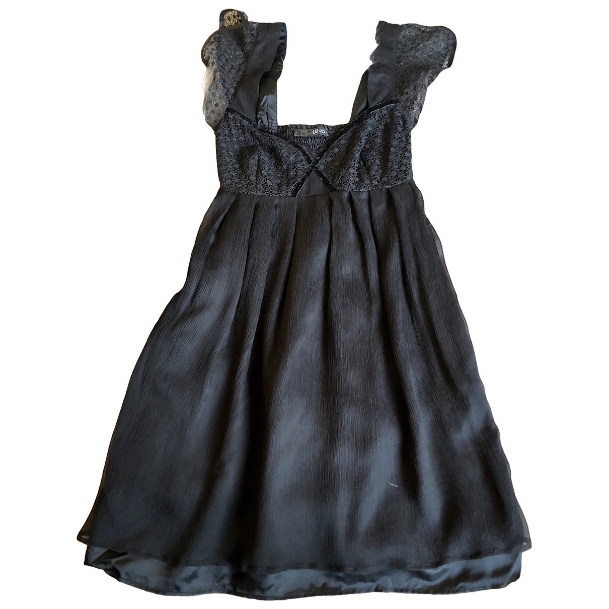 Liu.jo - Robe   pour femme en soie - noir